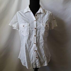 H&M Button up short sleeve shirt